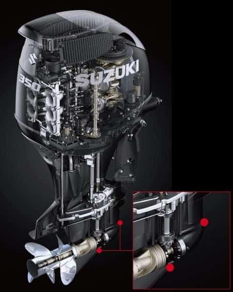 DF325A 20. เครื่องยนต์เรือ Outboard engine