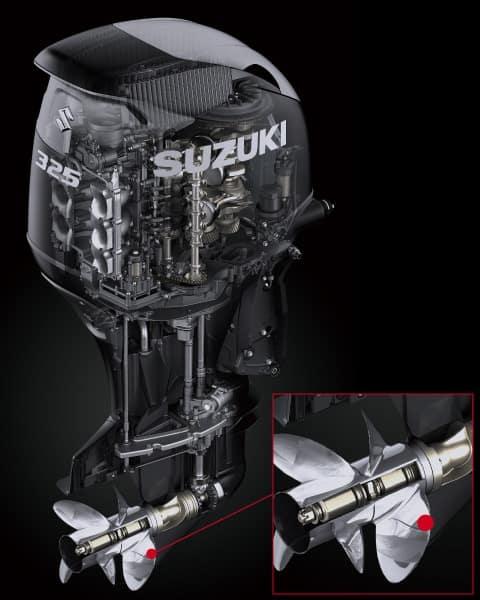 DF325A 10. เครื่องยนต์เรือ Outboard engine