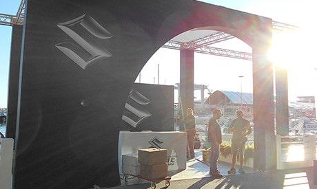 งานแสดงเรือนานาชาติเจนัว 1. เครื่องยนต์เรือ Outboard engine