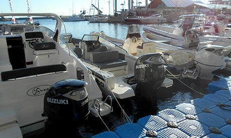 งานแสดงเรือนานาชาติเจนัว 2. เครื่องยนต์เรือ Outboard engine
