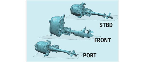 เทคโนโลยี 35. เครื่องยนต์เรือ Outboard engine