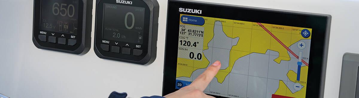 SUZUKI MULTI-FUNCTION DISPLAY 5. เครื่องยนต์เรือ Outboard engine