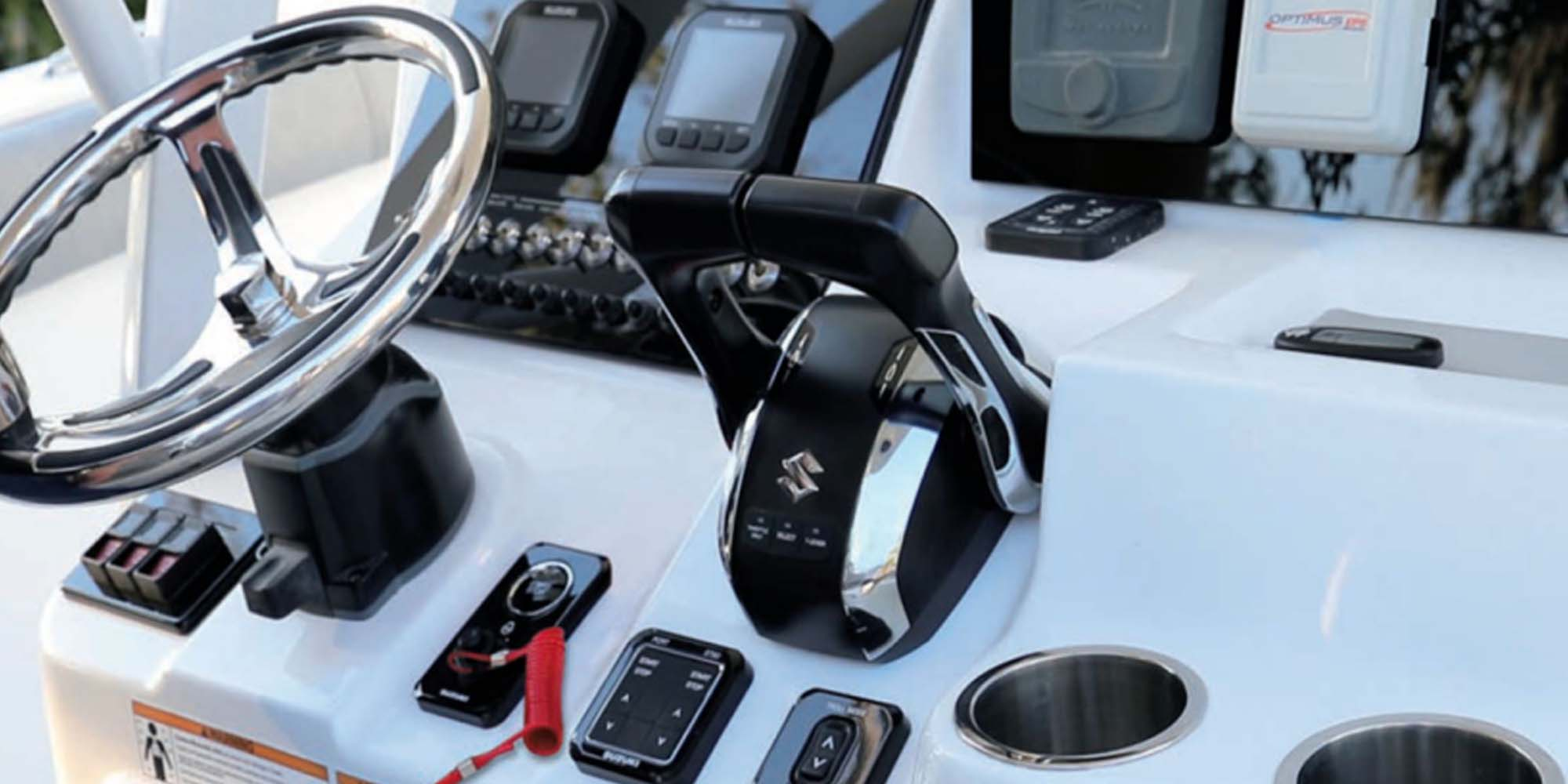 Suzuki Announces New Marine Accessories at Cannes Yachting Festival